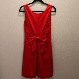 Kate Spade coral bow dress